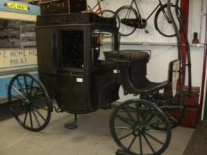 1907 Holsman car, Burwell Museum, Cambridgeshire