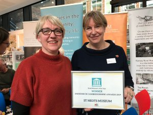 St Neots Museum is small museum of the year